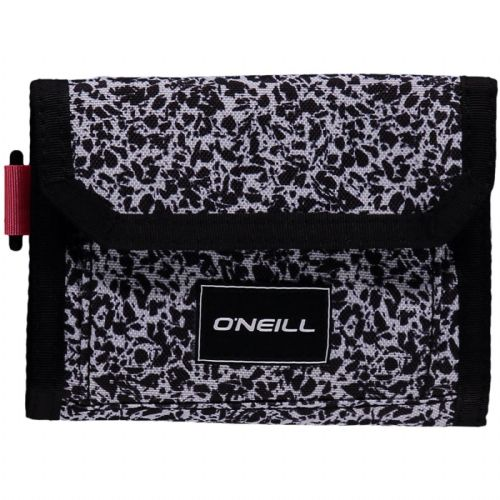 O'NEILL MENS WALLET.POCKETBOOK TRIFOLD BLACK MONEY NOTE CARD PURSE 8W 222 9910